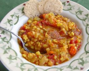 Split Pea Vegetable Soup