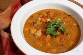 Squash and Chicken Stew