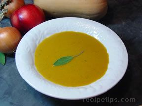 Smoky Squash Soup
