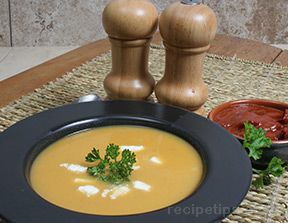 Sweet Potato and Apple Soup