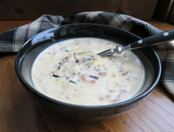 Turkey or Chicken Wild Rice Soup Recipe