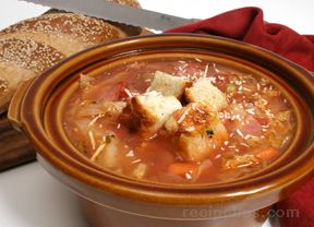 Tuscan Peasant Soup Recipe - RecipeTips.com