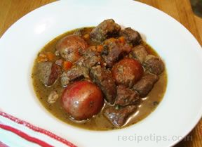 Venison Stew with Morel Mushrooms