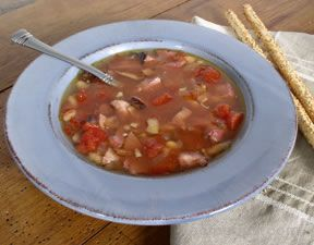 ham and white bean soup Recipe
