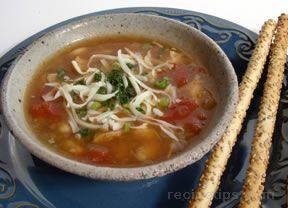 White Bean Chili with Chicken