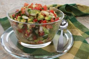 avocado salsa Recipe