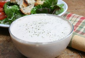 blue cheese and walnut dressing Recipe