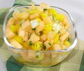 Cantaloupe and Mango Salsa Recipe