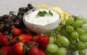 Fresh Fruit Dip Recipe