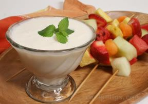 Fruit Dip Recipe