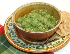 Lime - Tomatillo Salsa