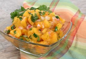 Mango and Red Onion Salsa