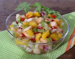 melon salsa Recipe