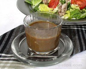 Balsamic and Mustard Dressing