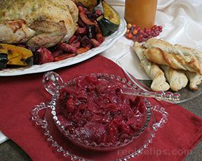 cranberry and onion relish Recipe