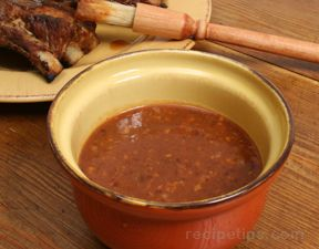 Plum and Apricot Barbecue Sauce