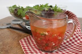Tomato and Oil Dressing Recipe