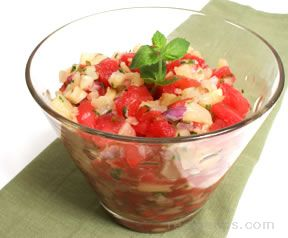 Pineapple Watermelon Salsa Recipe