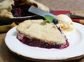 blueberry apple pie Recipe
