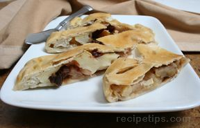 Apple and Brie Calzone
