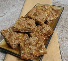 Apple Caramel Bars Recipe