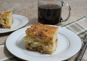 Apple Crumble Coffee Cake Recipe