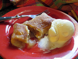 Apple Dessert Enchiladas