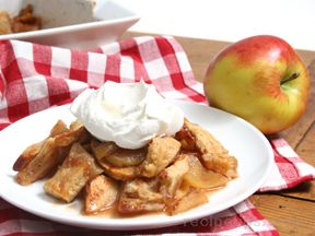 Apple Pandowdy with Maple Syrup