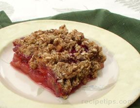 Raspberry and Apple Crisp