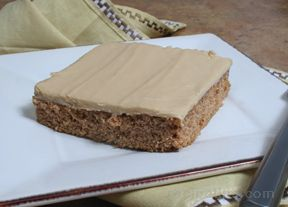 applesauce cake with penuche frosting Recipe