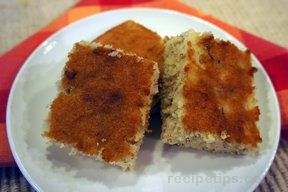 Banana Bars 9 Recipe
