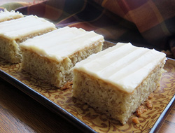 Banana Bars with Browned Butter Frosting Recipe