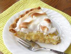 banana cream meringue pie Recipe