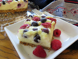 Berry Cheesecake Bars