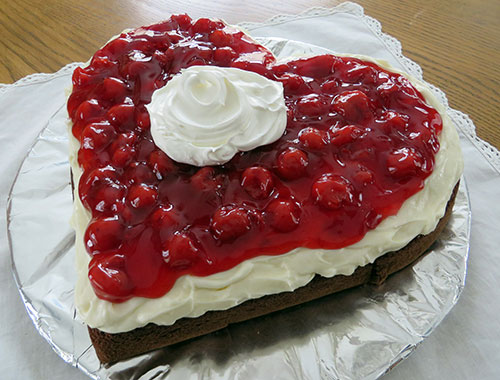 Cherry Devil S Food Sweetheart Cake Recipe