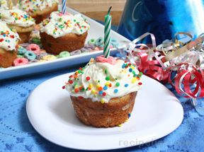 Birthday Cupcakes Recipe