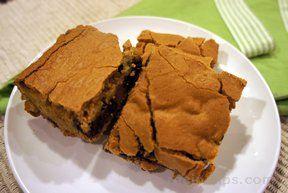 easy blonde brownies Recipe