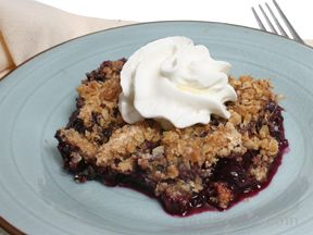 Classic Blueberry Crisp Recipe