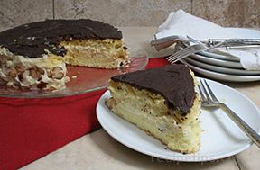 Boston Cream Pie Recipe