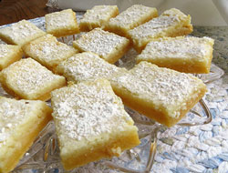 Butter Bars Recipe