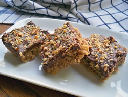 Candy Bar Cookie Bars Recipe