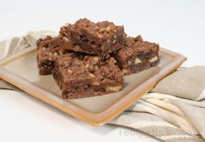 caramel chocolate bars Recipe