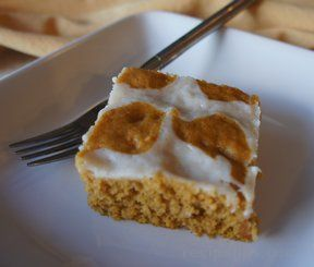 Carrot Pumpkin Bars Recipe