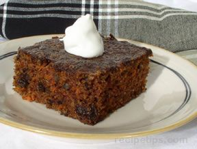 Carrot and Zucchini Cake Recipe