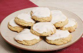 Cashew Drop Cookies