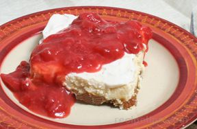 Cheesecake with Fresh Strawberries Recipe