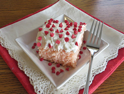 cherry chip cake Recipe