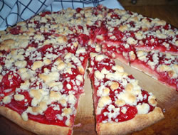 cherry dessert pizza Recipe