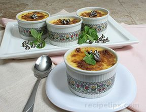 Chocolate Chip Creme Brulee