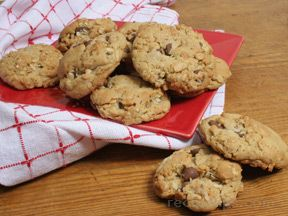 Chocolate Chip Ranger Cookies